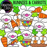{FREEBIE!} Bunnies and Carrots {Easter Clipart}