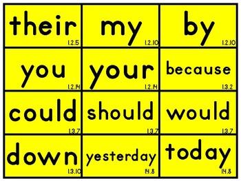{FREEBIE} CKLA First Grade Skills Tricky Words
