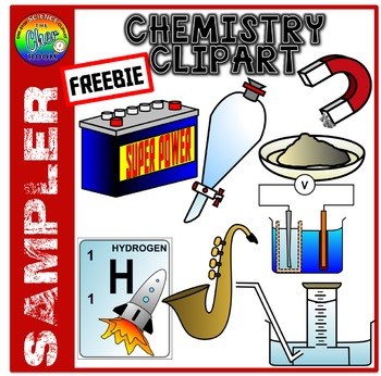 [FREEBIE] Chemistry Clipart Sampler