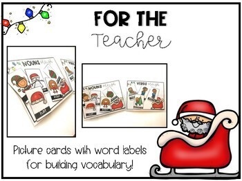 *FREEBIE* Christmas Sleigh Sort - Parts of Speech