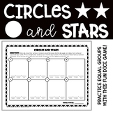 *FREEBIE* Circles and Stars - Multiplication as Equal Groups Game