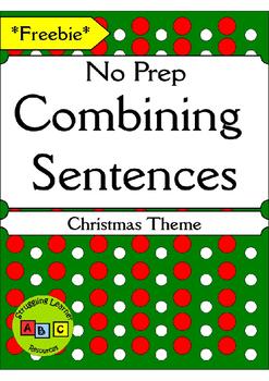 *FREEBIE* - Combining Sentences