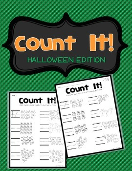 **FREEBIE** Count It! - Halloween Edition