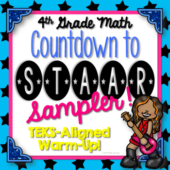 {FREEBIE} Countdown to STAAR! Test Prep Sampler {TEKS Aligned}