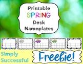 **FREEBIE**  Desk Nameplates