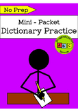 *FREEBIE* - Dictionary Practice Mini-Packet
