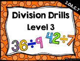 {FREEBIE} Division Drills: Level 3 (30 Facts per Page)