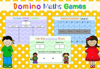 *FREEBIE* Domino Maths Games