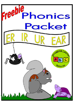 *FREEBIE* - ER / IR / UR Phonics Lesson Packet