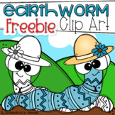 **FREEBIE** Earthworm Clip Art