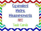 *FREEBIE* Equivalent Metric Measurement Task Cards