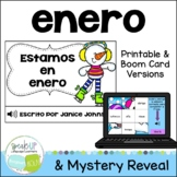 *FREEBIE* Estamos en enero Spanish January reader {libro en español}