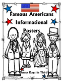 BLACK HISTORY / FAMOUS AMERICANS BIOGRAPHIES {NO PREP POSTERS}