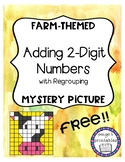{FREEBIE FRIDAY} Adding Two-Digit Numbers with Regrouping Mystery Picture