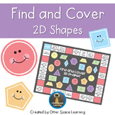 *FREEBIE!* Find and Cover - 2D Shapes Game