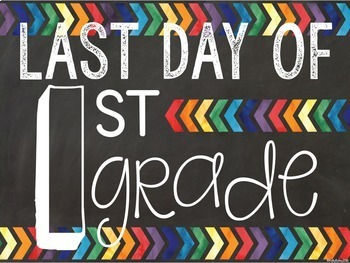 {FREEBIE} First and Last Day of School Signs