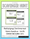 {Grade 4} Fraction Scavenger Hunt: Multiplying Fractions and Whole Numbers