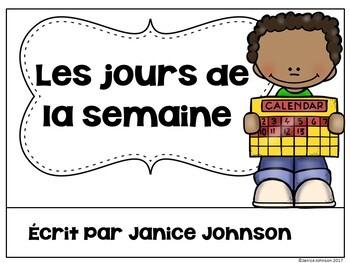 *FREEBIE* ~ French Days of the Week Readers {Les jours de la semaine}