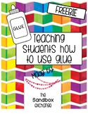 *FREEBIE* Glue Dots Worksheets for Teaching Young Students