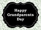 **FREEBIE**  Grandparents Day: A Sweet September Celebration
