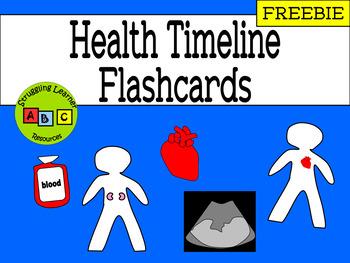 *FREEBIE* - Health Timeline Flashcards
