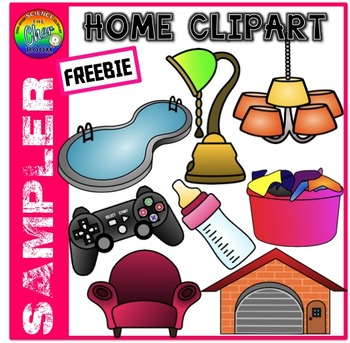 [FREEBIE] Home Clipart Sampler