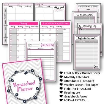 Homeschool Planner Set