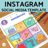 Instagram Template Editable Version Included