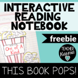 Interactive Reading Notebook, Popcorn Themed Book Report