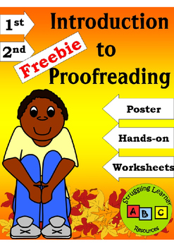 *FREEBIE* Intro to Proofreading