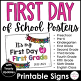 FREEBIE | Updated: 2020-2021 It's my FIRST day of school S