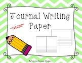 ***FREEBIE*** Journal Writing Paper
