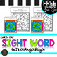 **FREEBIE** K-5 Earth Day Sight Words Color by Code Printables