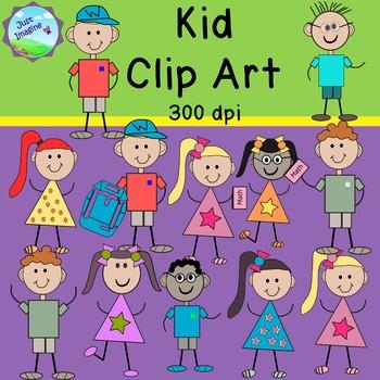 *FREEBIE* Kid Clip Art