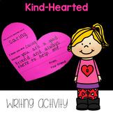 *FREEBIE* Kind-Hearted writing activity