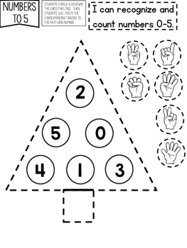 *FREEBIE* KinderMath™ and FirstieMath™ Christmas Interactive Notebook