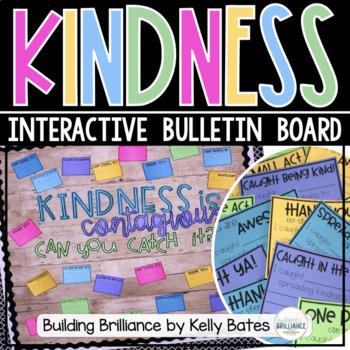 {FREEBIE} Kindness is Contagious Bulletin Board