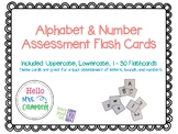 {FREEBIE} Letter and Number Flashcards