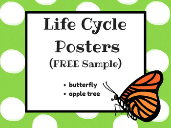 (FREEBIE) Life Cycle Posters Sample