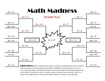 *FREEBIE* Math Madness - Addition and Subtraction with Regrouping