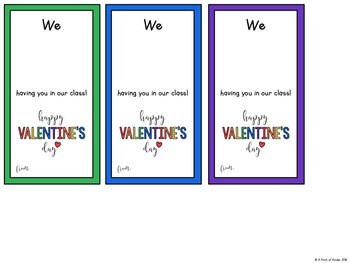 {FREEBIE} Melted Crayon Valentine's Day Cards