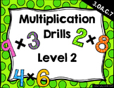 {FREEBIE} Multiplication Drills Level 2 (Mixed - 25 per page)