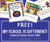 *FREEBIE* My School is Different! A Back to School COVID-19 Social Story