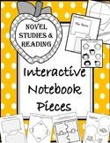 {FREEBIE} Novel/Story Interactive Notebook Pieces