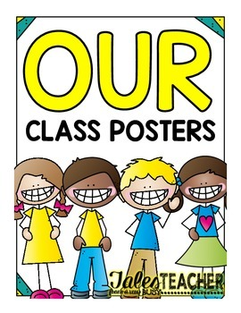 """{FREEBIE} """"OUR"""" Class Posters"""