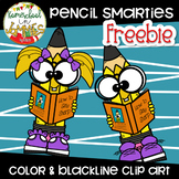 **FREEBIE** Pencil Smarties Clip Art