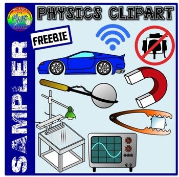 [FREEBIE] Physics Clipart Sampler