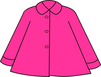 ~FREEBIE~ Pink Coat Clip Art