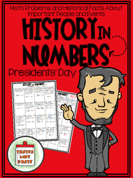 {FREEBIE} Presidents' Day - History In Numbers Printable