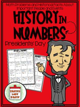 {FREEBIE} Presidents' Day - History In Numbers Printable